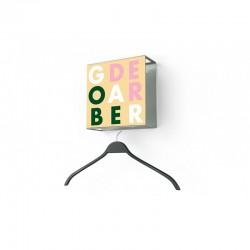 Einteilige Garderobe Quadro 5