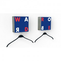 Two-piece Wardrobe Quadro