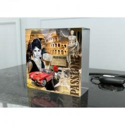Tischleuchte Quadro Motiv: Stadt Rom